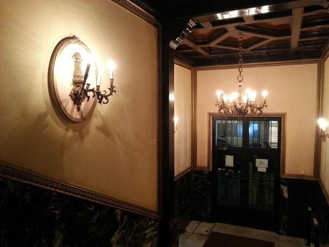 Madrid apartment entrance hall