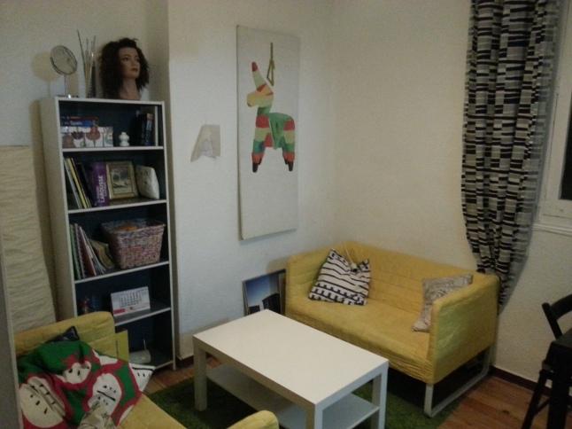 Madrid apartment salon