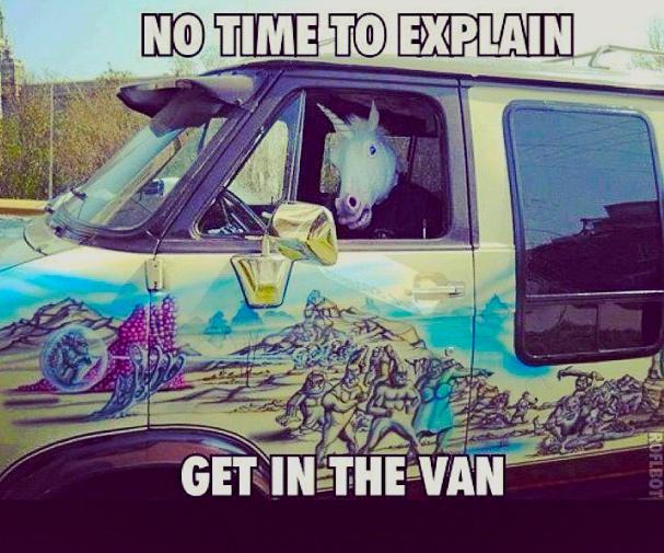 unicorn-van